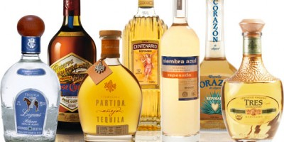 Types of tequilas